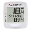 SIGMA SPORT BC 8.12 ATS Licznik rowerowy bezprzewodowy biały